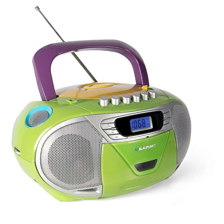 Blaupunkt Kinder Boombox mit CD und Kassette für 45,99€ inkl. Versand (statt 65€)