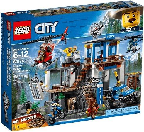 LEGO City 60174 - Bergpolizei Hauptquartier der Gebirgspolizei für 46,19€