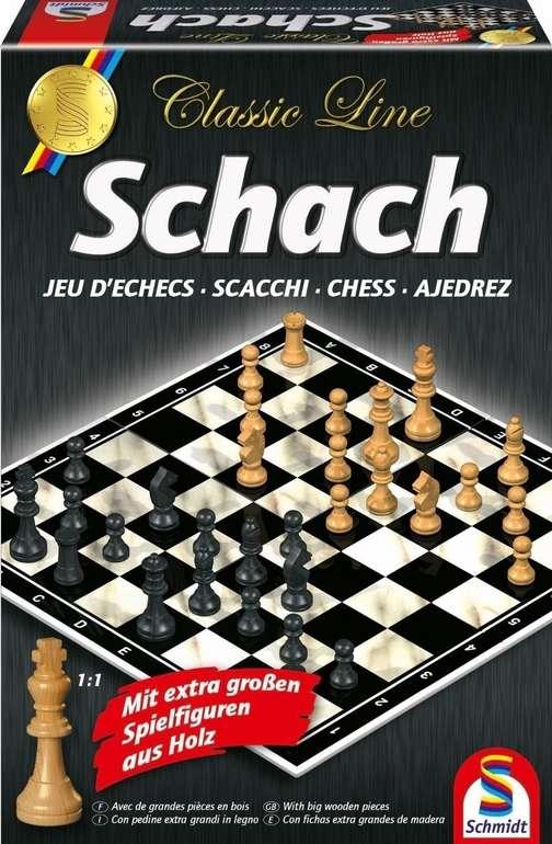 Schmidt-Spiele Classic Line Schach (49082) für 14,99€ inkl. Prime Versand (statt 18€)