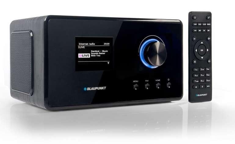 Blaupunkt IRD 300 BK Internetradio mit DAB+, Farb-Display und App-Funktion für 97,46€ (statt 121€)