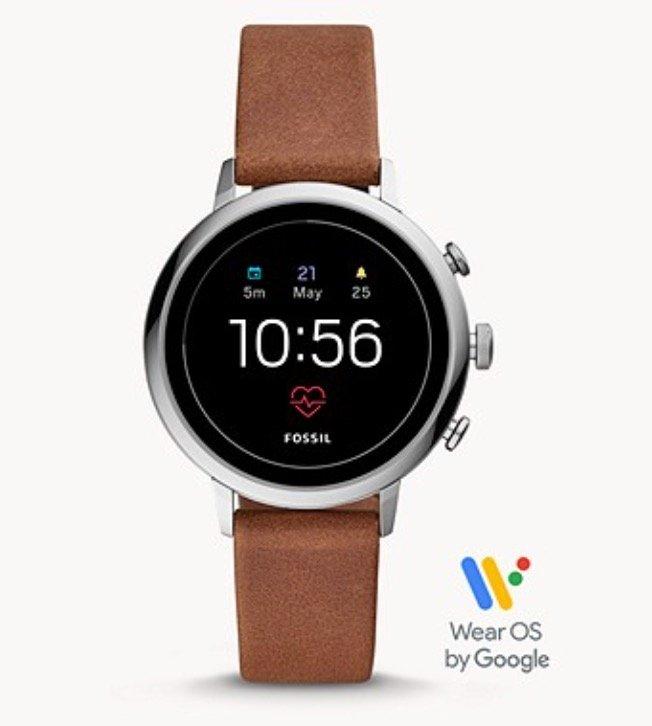 Fossil FTW6014 Venture HR Damen Smartwatch (4. Generation) für 99€ inkl. Versand (statt 149€)