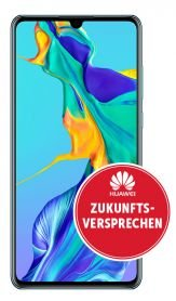 Huawei P30 in Breathing Crystal (4,95€) + otelo Allnet-Flat Classic (10GB LTE, D2) für 19,99€ mtl.