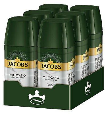 6 x 100g JACOBS Löskaffee Millicano (löslicher Kaffee) für 24,95€ inkl. VSK