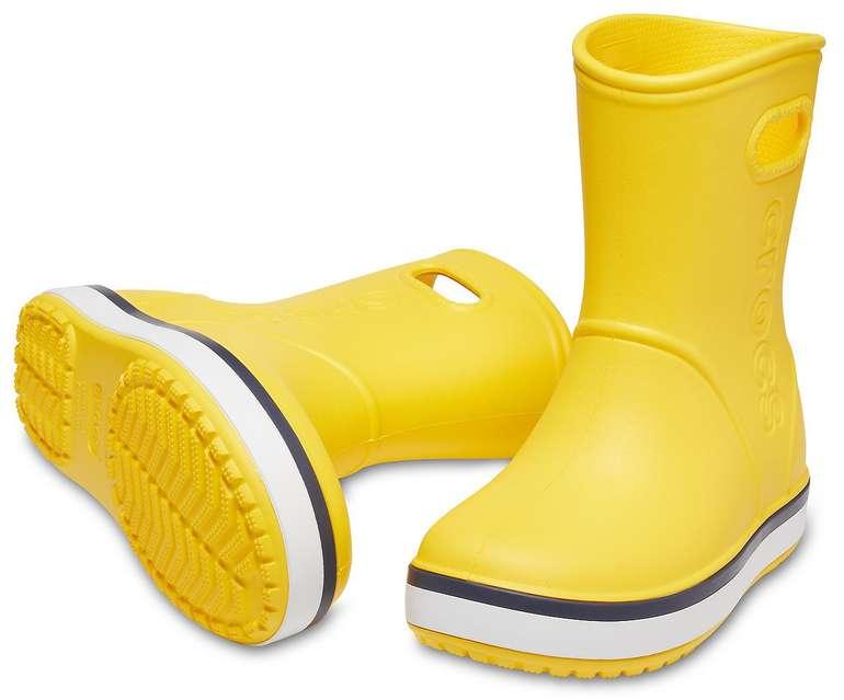 Crocs: 40% Rabatt für Bestellungen ab 2 Paar + VSKfrei, z.B. 2x Kids Crocband Rain Boot für 42€