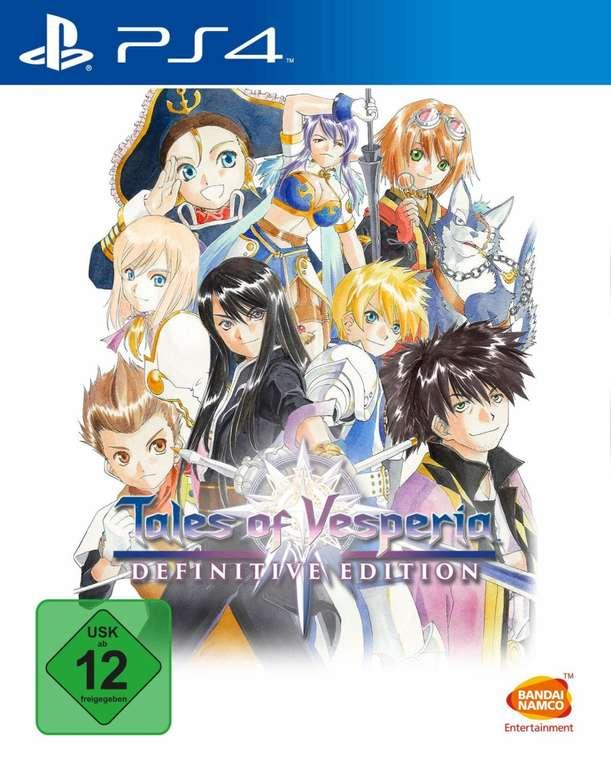 Tales of Vesperia: Definitive Edition (PS4, Xbox One) für 11,98€ inkl. Versand (statt 20€)