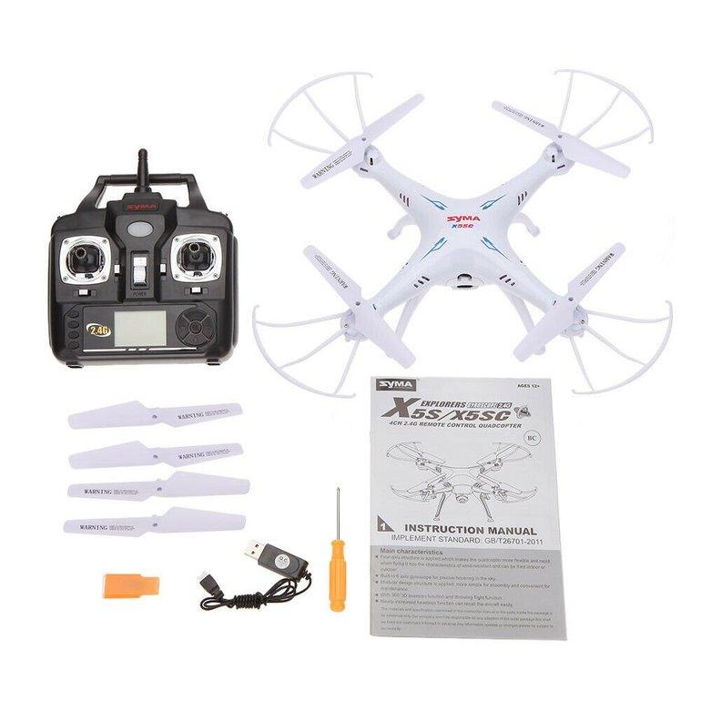 SYMA X5SC 2.4G 4CH 6-Achsen Gyro Drohne für 37,99€ inkl. VSK