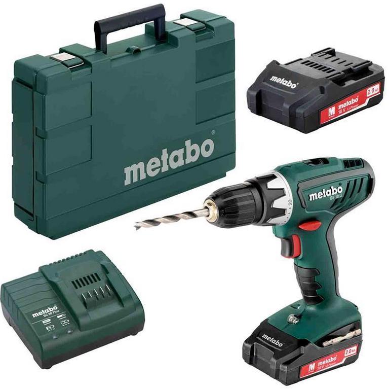Metabo BS 18 Li Akku-Bohrschrauber + 2x 2Ah Akkus für 99,95€ inkl. Versand