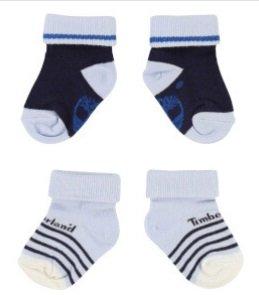 Timberland Jungen Mode im Sale z.B. 2 Paar Babysocken für nur 5€ + VSK