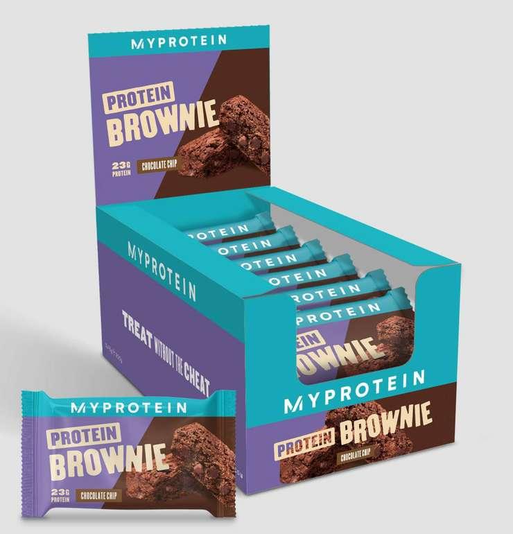 MyProtein: 40% Rabatt auf Bestseller - Protein Brownie (12 Stück) für 9,99€
