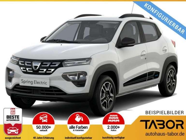Gewerbeleasing: Dacia Spring mit 45 PS für 17€ netto mtl. (BAFA, LF: 0.10, Überführung: 631€)