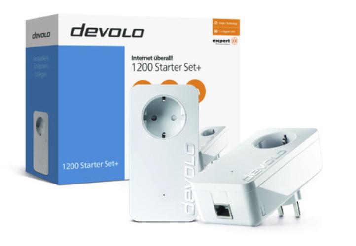 Powerline Steckdose Devolo dLAN 1200+ Starter Kit für 72,12€ inkl. Versand (statt 99€)