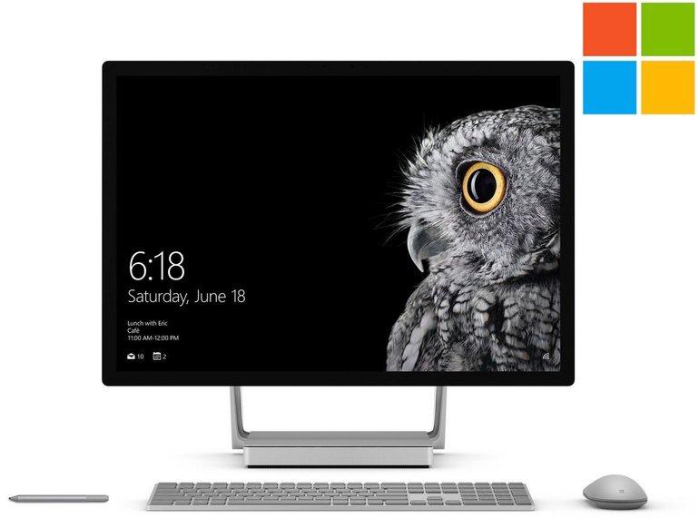 Microsoft Surface Studio (i7, 16GB, 1TB HDD + 128GB SSD) für 1808,90€ (B-Ware)