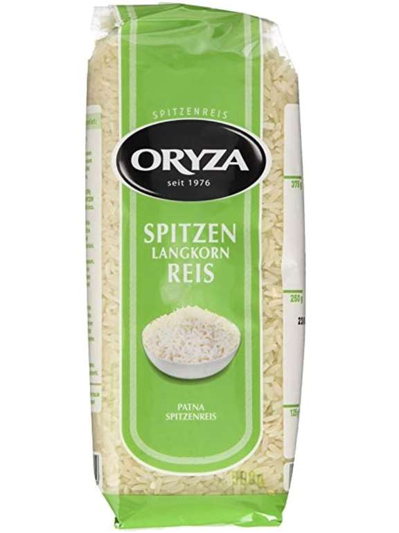 Preisfehler? Oryza Patna Reis (1 x 500 g) für 0,68€ inkl. Prime Versand (statt 2€)