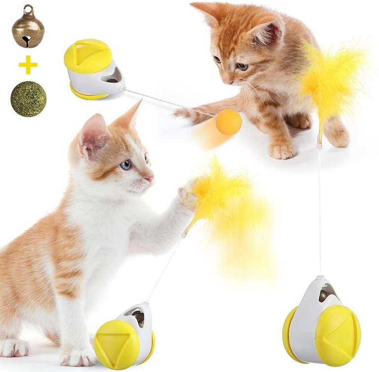 Joseko interaktives Katzenspielzeug für 7,14€ inkl. Prime Versand (statt 13€)