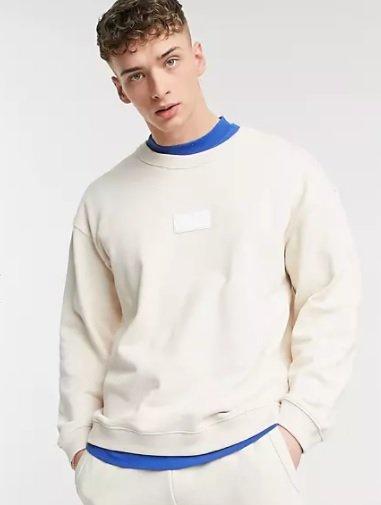 Adidas Originals R.Y.V. Sweatshirt im Beige für 29,95€ inkl. Versand (statt 60€)