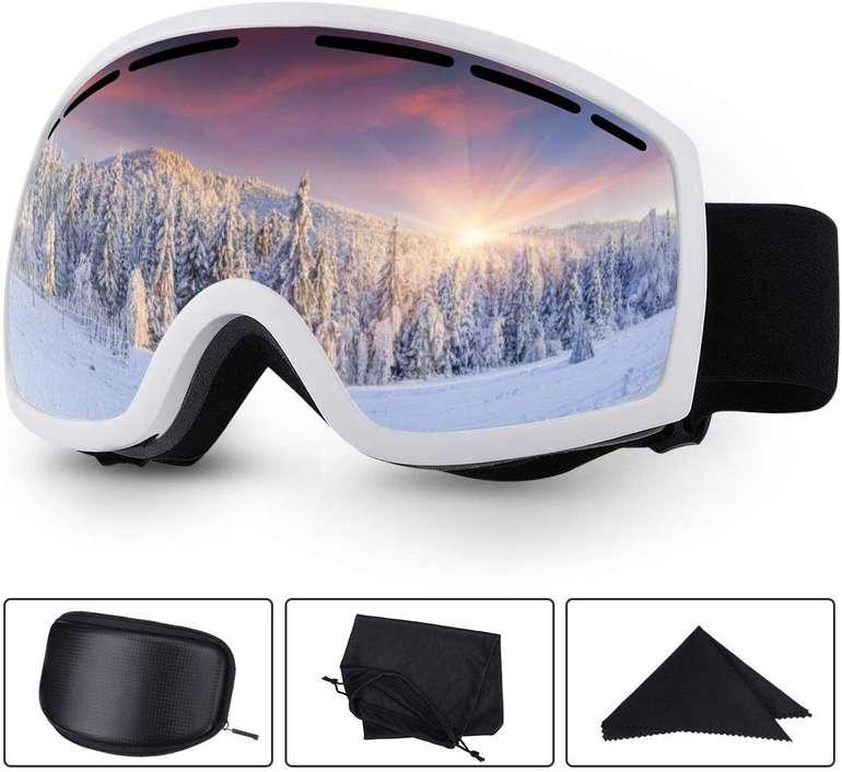 Baban Skibrille mit UV-Schutz & Antibeschlag für 17,39€ inkl. Prime Versand (statt 29€)