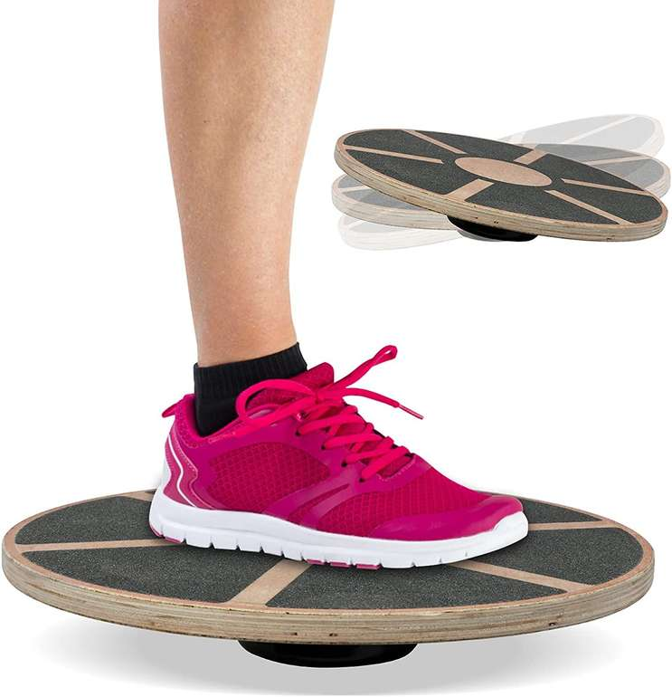 Einfeben Balance Board aus Holz (Fitness, Training, Ø 39.5cm) für 15,99€ inkl. Versand (statt 32€)