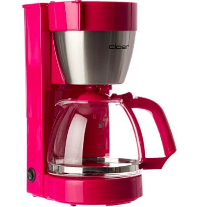 Lady's aufgepasst: Cloer 5017-1 Kaffemaschine in pink für 18€ (statt 27€)