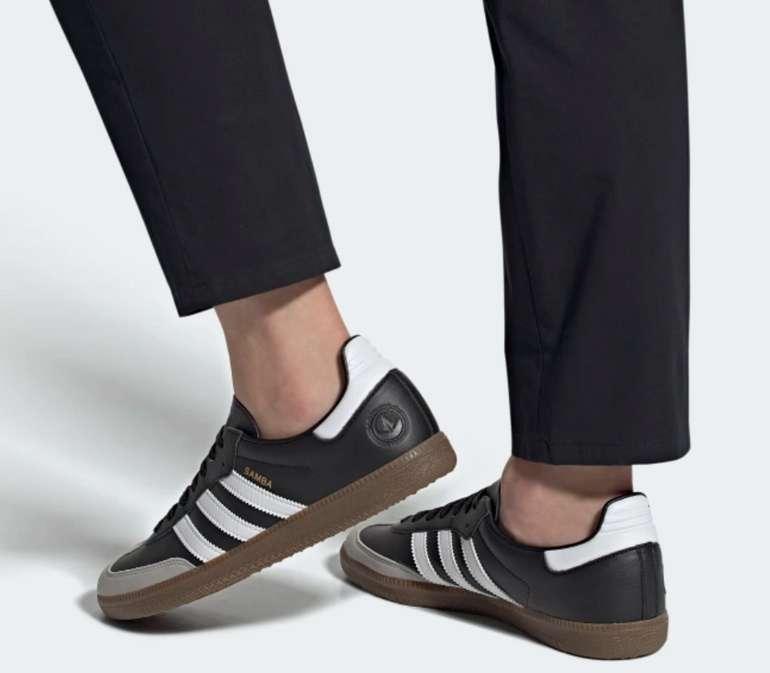 adidas Samba Vegan Sneaker in Schwarz/Braun für 53,55€inkl. Versand (statt 62€)
