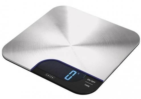 Lafer Edelstahl Küchenwaage Sensor Touch für 16,99€ inkl. Versand (statt 22€)
