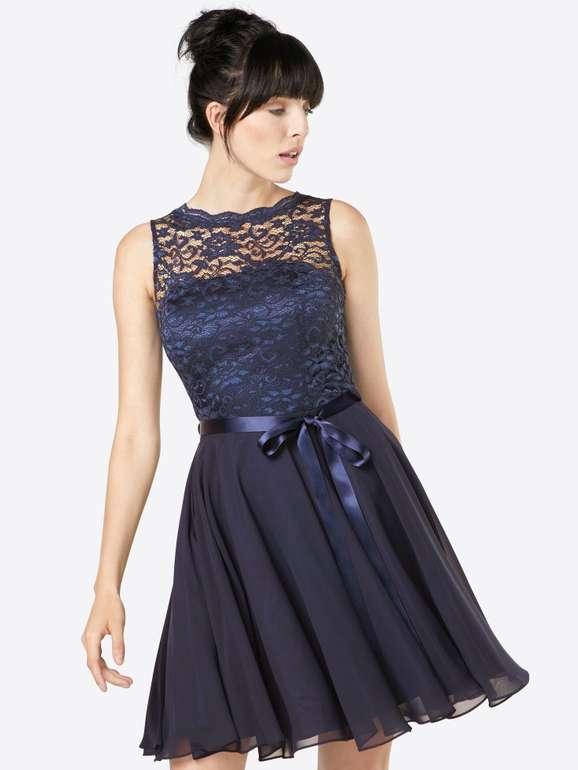 Swing Damen Cocktailkleid mit Spitze in dunkelblau für 87,20€ inkl. Versand (statt 133€)