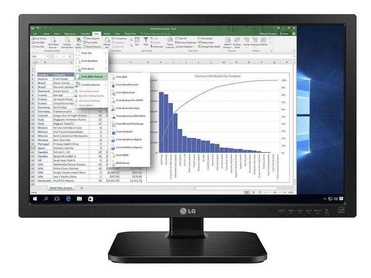 """LG 24MB37PM-B - 23,8"""" IPS Monitor mit Höhenverstellung für 79,90€ inkl. Versand (statt 115€)"""