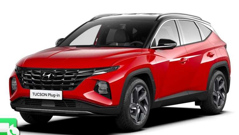 Gewerbeleasing: Hyundai Tucson Plug-in Hybrid mit 265 PS für 66,14€ netto mtl. (BAFA, LF: 0.18, Überführung: 999€)