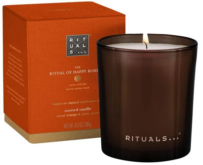 Rituals Duftkerze - the Ritual of Happy Buddha (290g) für 12,99€ inkl. Versand