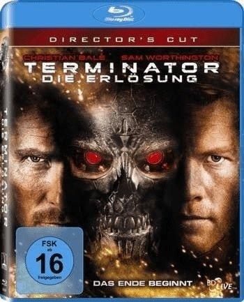 Terminator - Die Erlösung, Blu-ray (Director's Cut) für 3,55€ inkl. Versand (statt 9€)