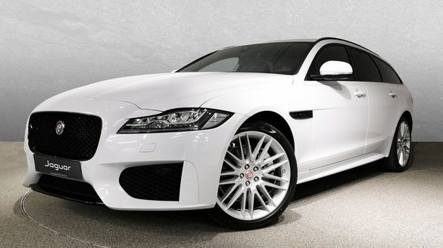 Jaguar XF 30t AWD Chequered Flag für 399€ Brutto mtl. im Privat- & Gewerbeleasing - LF: 0.49