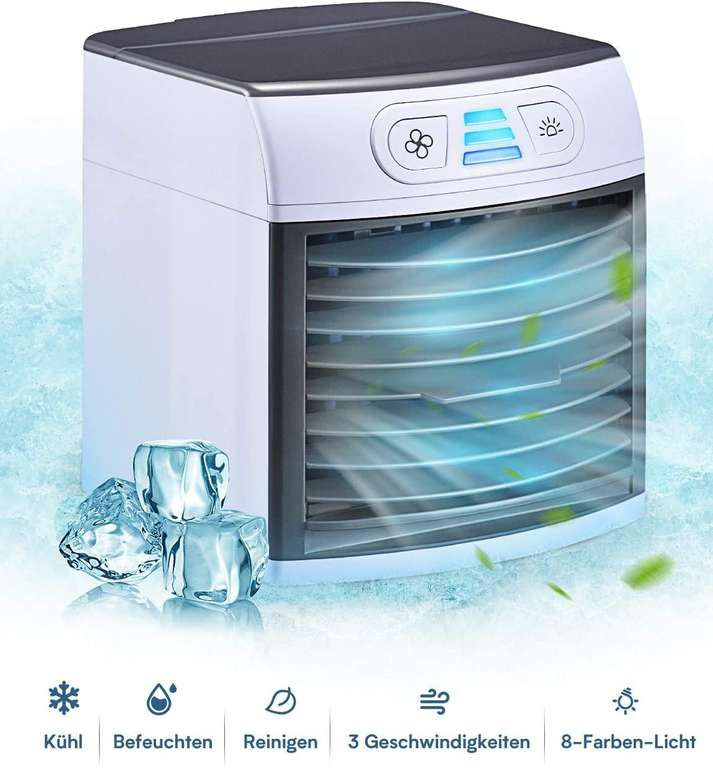 Homitt Mini Verdunstungskühler für 16,99€ inkl. Prime Versand (statt 29€)