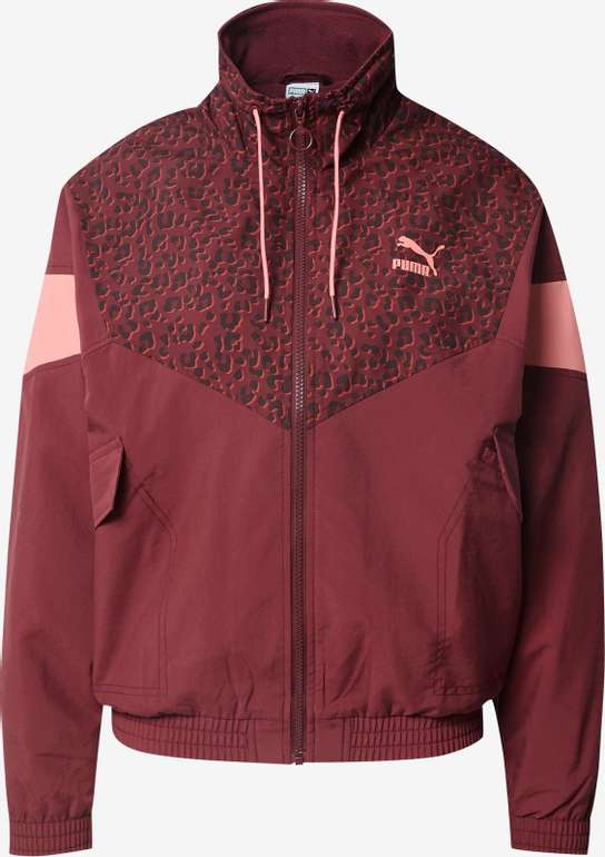 Puma Trainingsjacke in rosé / rot für 53,94€ inkl. Versand (statt 76€)