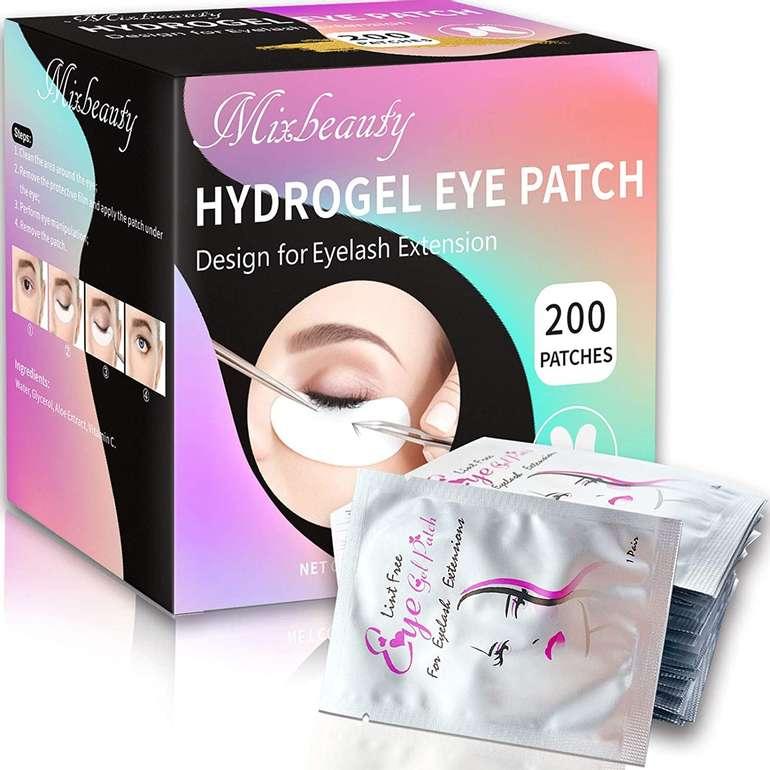 Mixbeauty 200er Pack Augenpads (für Wimpernverlängerung) für 10,99€ inkl. Prime Versand (statt 22€)