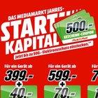 Media Markt Jahresstartkapital - Bis zu 500€ Geschenkgutschein für euren Einkauf
