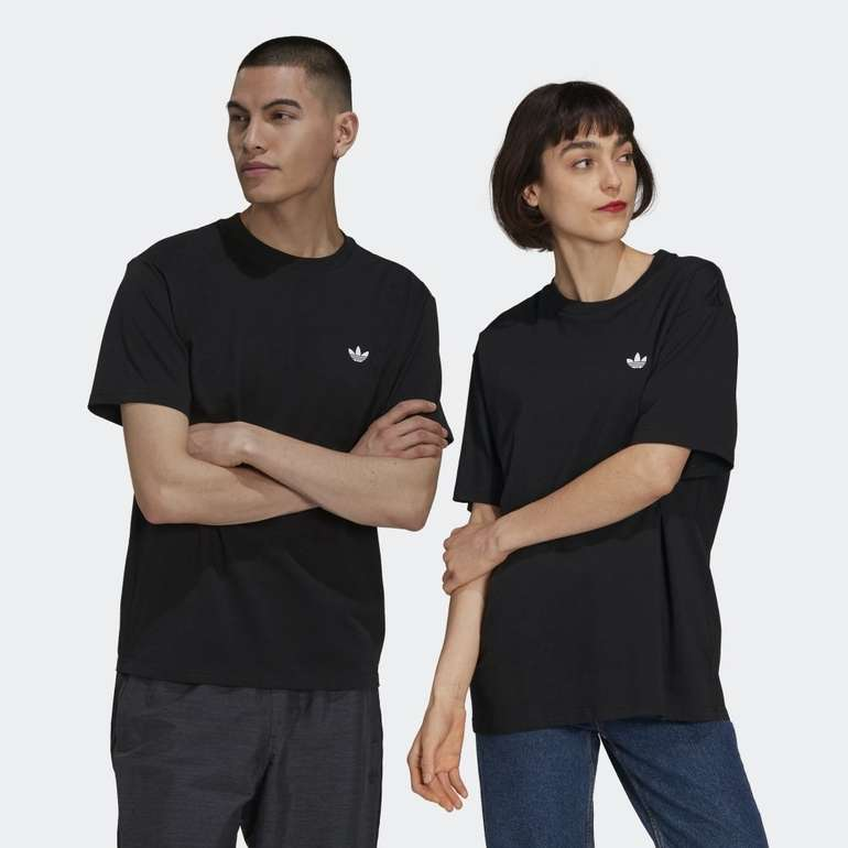 Adidas Skateboarding 4.0 Logo genderneutrales T-Shirt in 2 Farben für je 21€ (statt 34€) - Creators Club