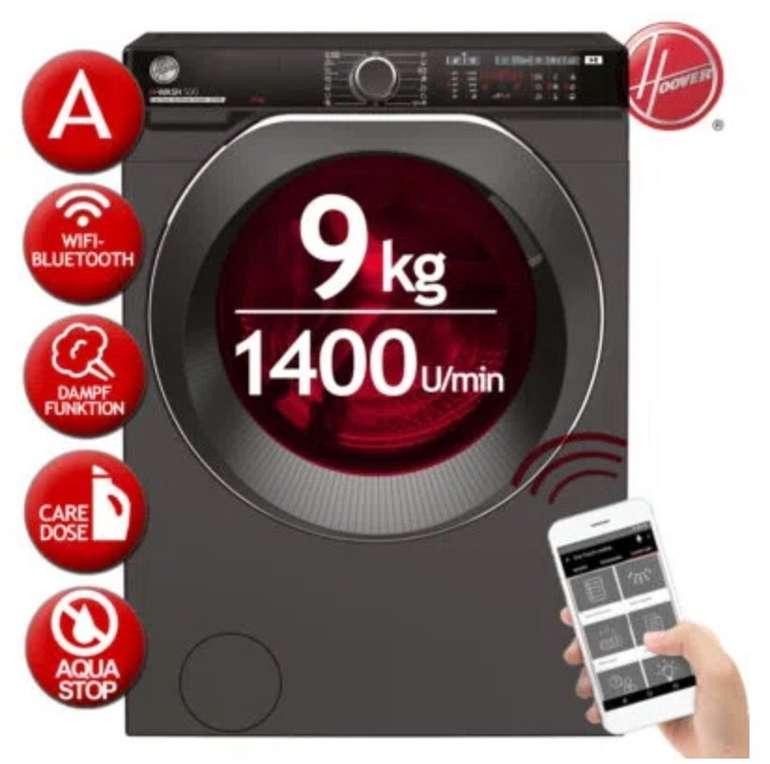 Hoover H-WASH500 - 9kg Frontlader Waschmaschine (neue Energieeffizienzklasse D) für 349,90€ (statt 499€)