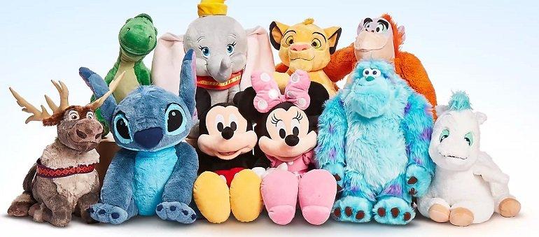 Große Disney Kuscheltiere