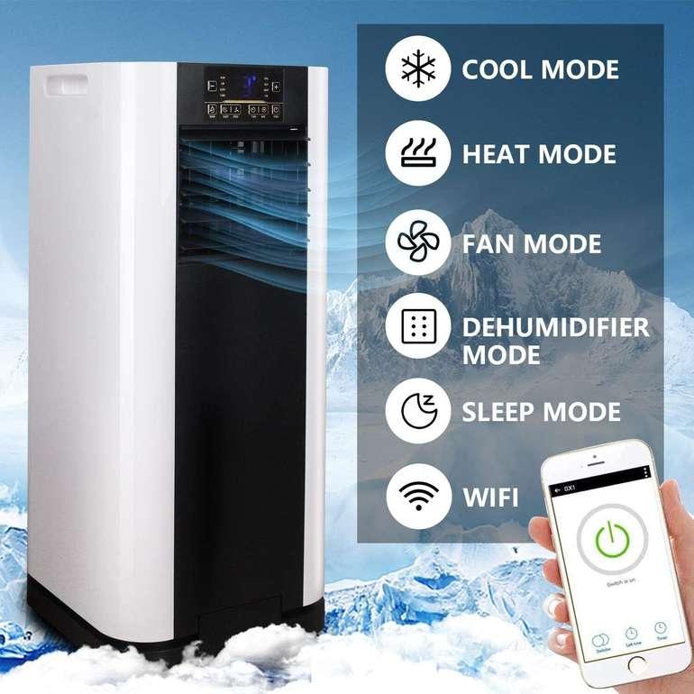 Hengda Klimageräte reduziert, z.B. 4-in-1 Klimaanlage mit 9000 BTU/h für 173,79€