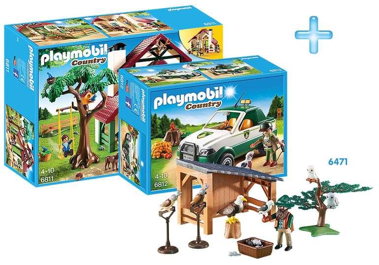 Playmobil Country Bundle Forsthaus für 37,49€ inkl. VSK