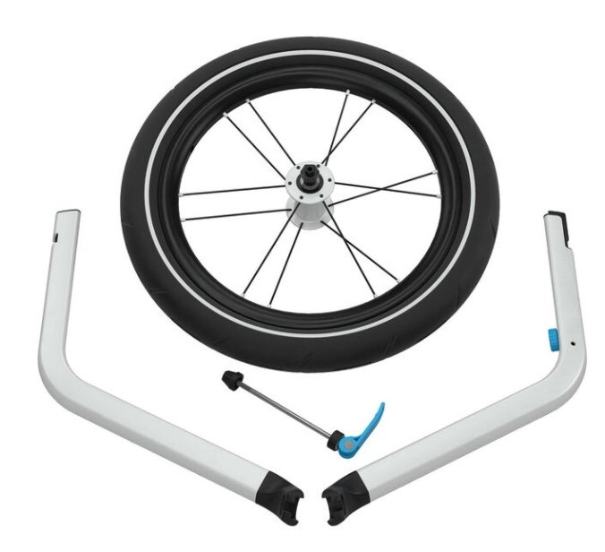 """Thule Kinderwagen Umrüst-Set """"Chariot Jogging Kit 2"""" für double Version nur 97,08€ inkl. Versand (statt 114€)"""