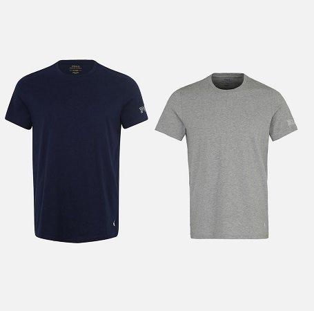 """Polo Ralph Lauren Herren T-Shirts """"CREW-CREW-SLEEP TOP"""" je 25,90€ (statt 40€)"""