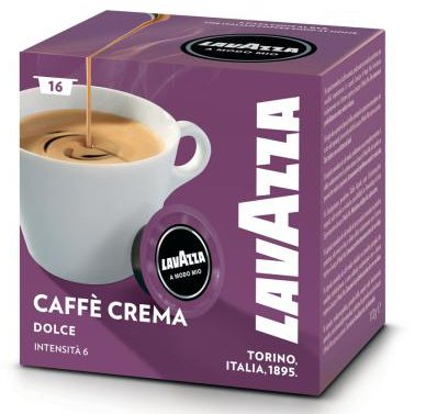 64 Lavazza A Modo Mio Caffe Crema Dolce Kapseln für 13,32€ inkl. Versand