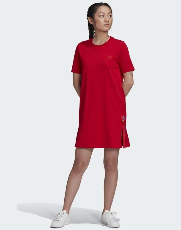 Adidas Adicolor 3D Trefoil T-Shirt Kleid in 2 Farben für je 18,22€ (statt 34€) - Creators Club