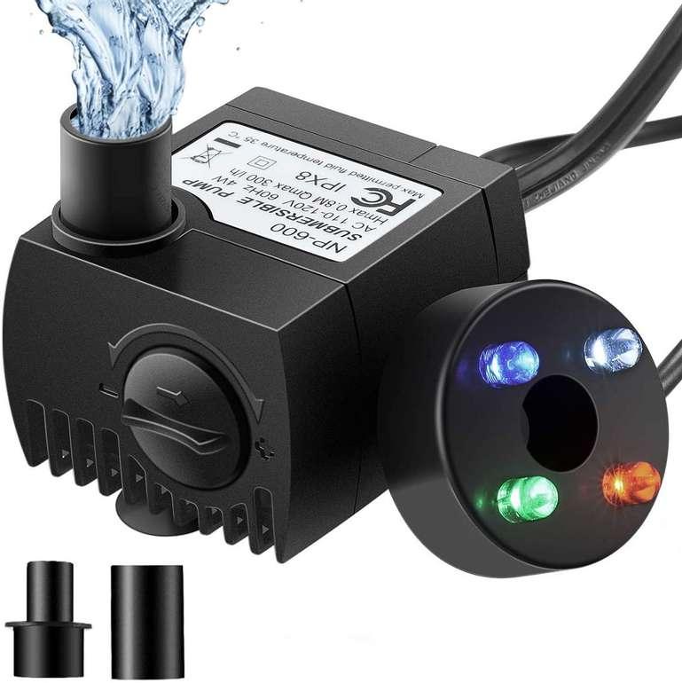 Omorc Mini Pumpe mit LEDs & 2 Düsen für 8,99€ inkl. Prime Versand (statt 15€)