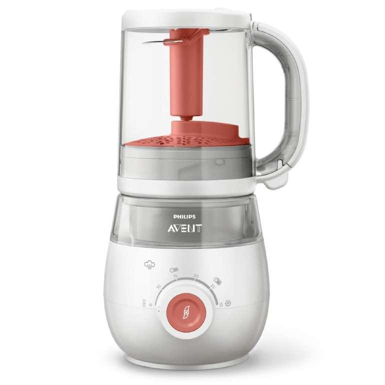 Philips Avent 4-in-1 Baby Dampfgarer und Mixer SCF881/01 für 91,99€ (statt 132€)