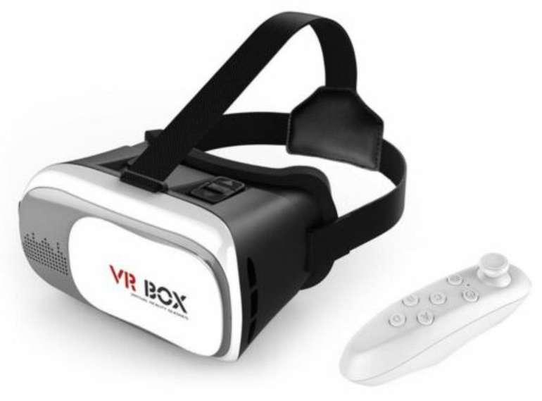 Veova FHVR-02 VR Box Virtual Reality VR Brille & Controller für 7,77€ inkl. Versand (statt 15€)