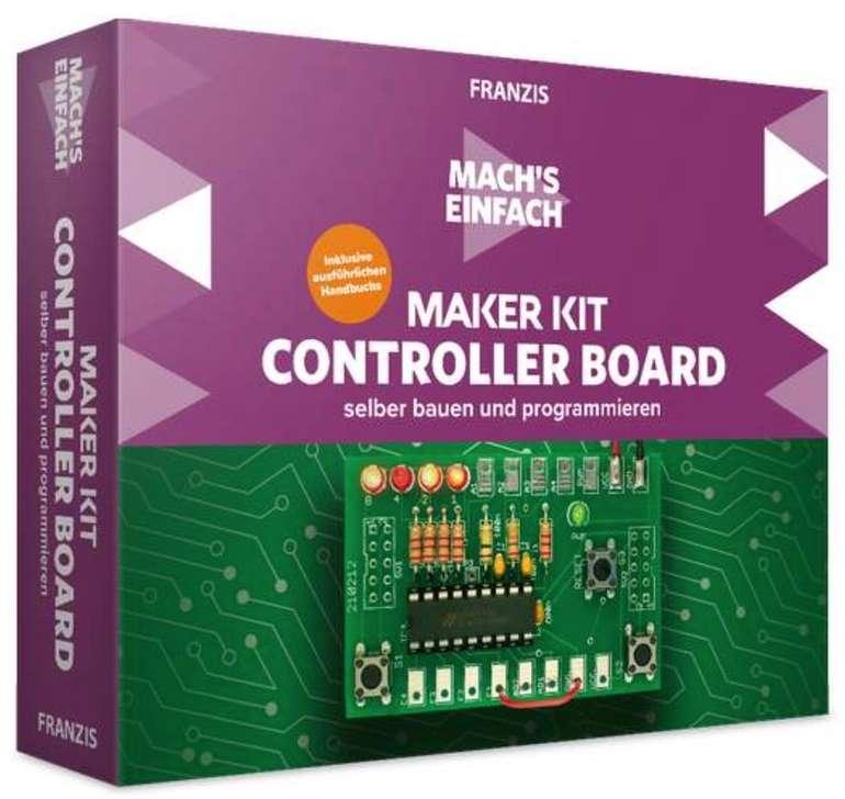 Franzis Maker Kit Controller Board selber bauen und programmieren für 18€ inkl. Versand (statt 25€)