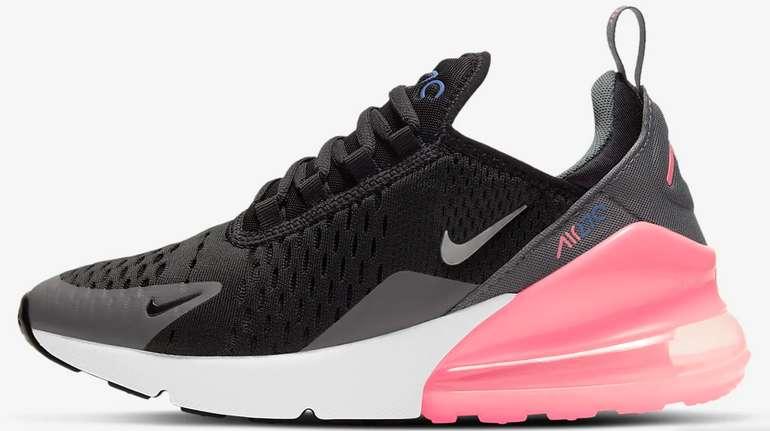 Nike Air Max 270 Grundschule Sneaker (vers. Designs) für 62,98€inkl. Versand (statt 104€) - Membership