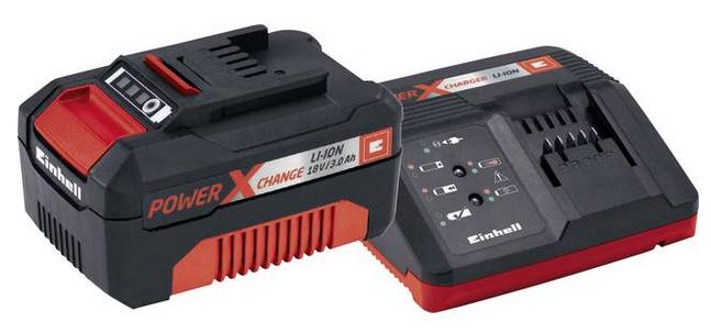 Einhell Power X-Change Starter-Kit 4512041 Akku 18V 3Ah für 25,90€ (statt 41€)
