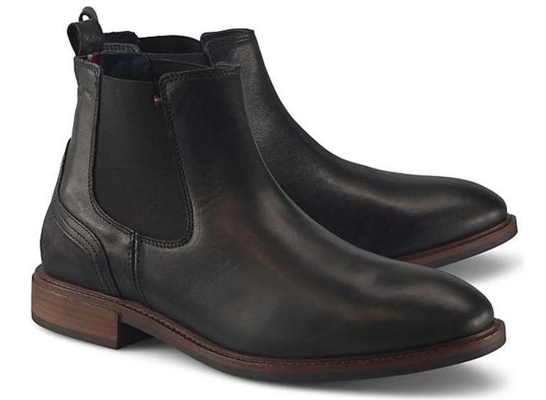 Görtz Sale bis zu 50% + 20% Extra (auf Stiefel & Co.) - z.B. Tommy Hilfiger Elevated Chelsea Boots für 96€